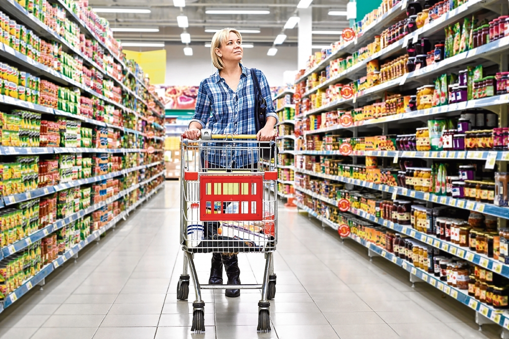 A healthy diet starts at the supermarket