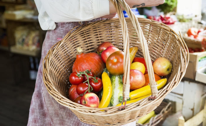 sustainable eating - eat 5 portions of fruits and vegetables every day