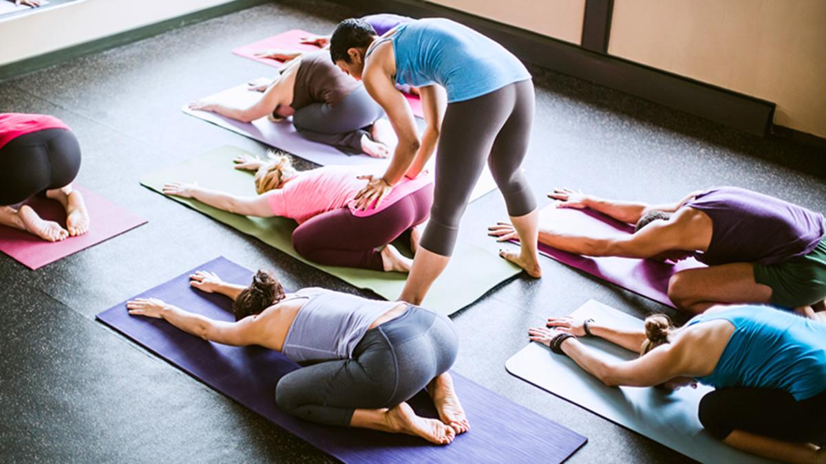 yoga: asana posture